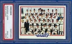 1978 Topps Milwaukee Brewers Team #328 *PSA 9*