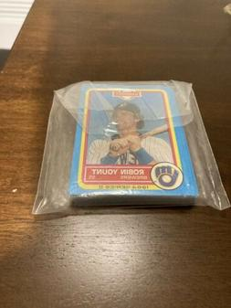 1984 Gardners Milwaukee Brewers 22 Card Team Set Topps Molit