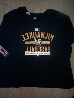 Milwaukee Brewers mlb Jersey Shirt Adult WOMENS/WOMEN'S