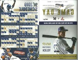 2019 Milwaukee Brewers Magnetic Schedule & Game Day Christia