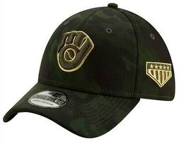 New Era 2019 MLB Milwaukee Brewers Hat Cap Armed Forces Day