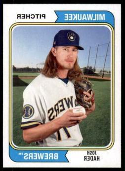 2020 Archives Base #148 Josh Hader - Milwaukee Brewers