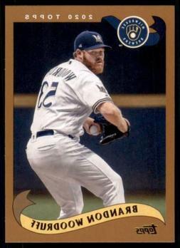 2020 Archives Base #282 Brandon Woodruff - Milwaukee Brewers