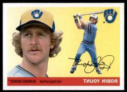 2020 Archives Base #29 Robin Yount - Milwaukee Brewers