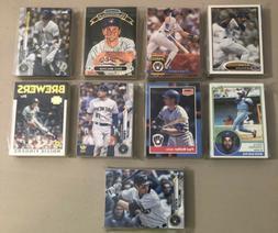 30 Milwaukee Brewers Baseball Card Lots Rookies Stars & Play