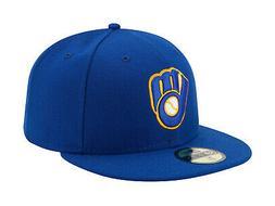 New Era 59Fifty MLB Cap Milwaukee Brewers ALT Mens Royal Blu