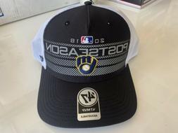 Authentic 2018 postseason Milwaukee Brewers baseball cap