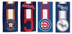 "MLB Baseball - Beach Towel 30'' x 60"" - zone read - Pick you"