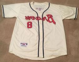 Bob Uecker Milwaukee Braves Retro Throwback Jersey Mens XL N