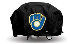 Brewers Ball & Glove Deluxe Grill Cover