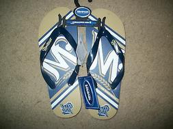 Milwaukee Brewers   Flip Flops Sandals  XS Small or Medium