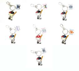 Hello Kitty Major league Baseball  Key Ring