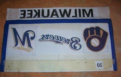 Milwaukee Brewers Head Display as / layouts of your choice