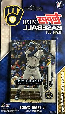 Milwaukee Brewers 2020 Topps Factory Sealed Team Set Ryan Br