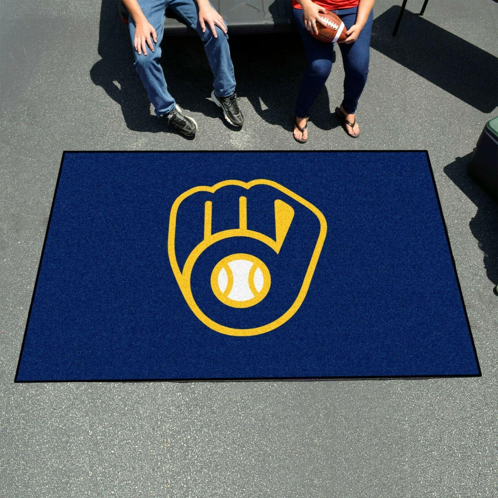 Milwaukee Brewers 8' Ulti-Mat Floor