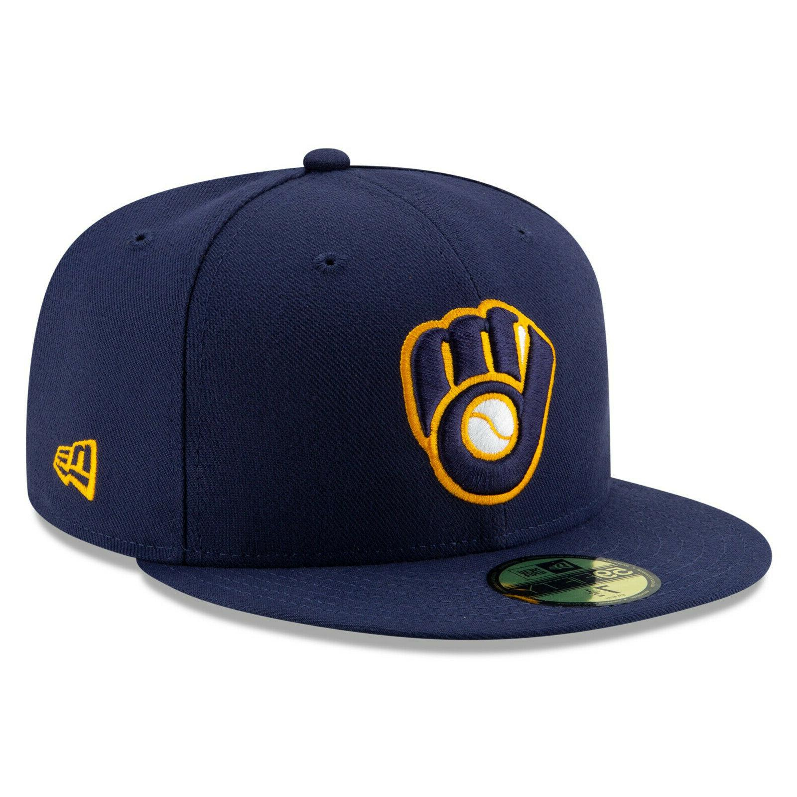 milwaukee brewers alternate authentic on field 59fifty