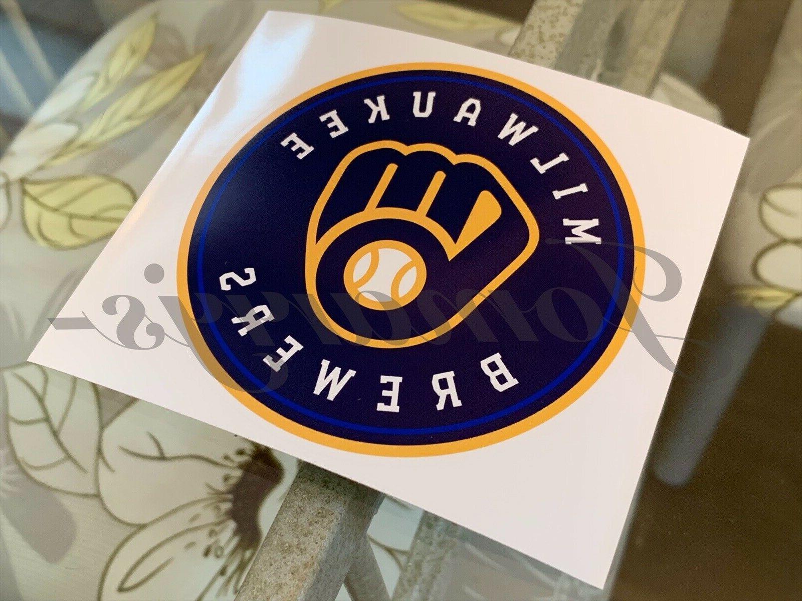 Milwaukee Logo Vinyl #Brewers