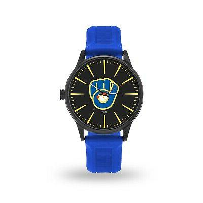 milwaukee brewers cheer design watch team color