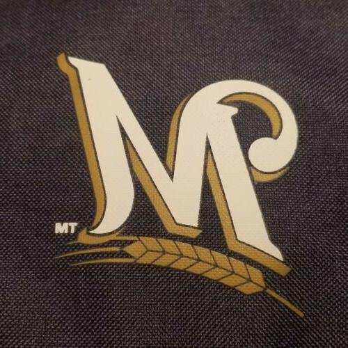 Milwaukee Brewers Crosshatch 16 Can Bag New With