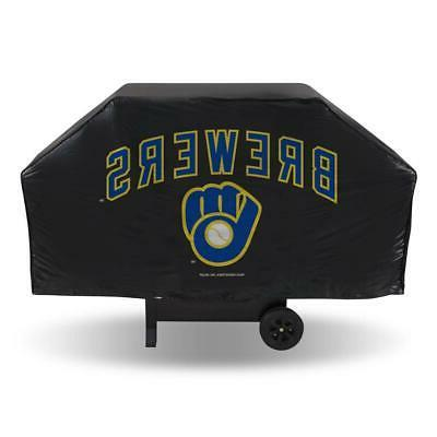 milwaukee brewers economy vinyl grill cover new