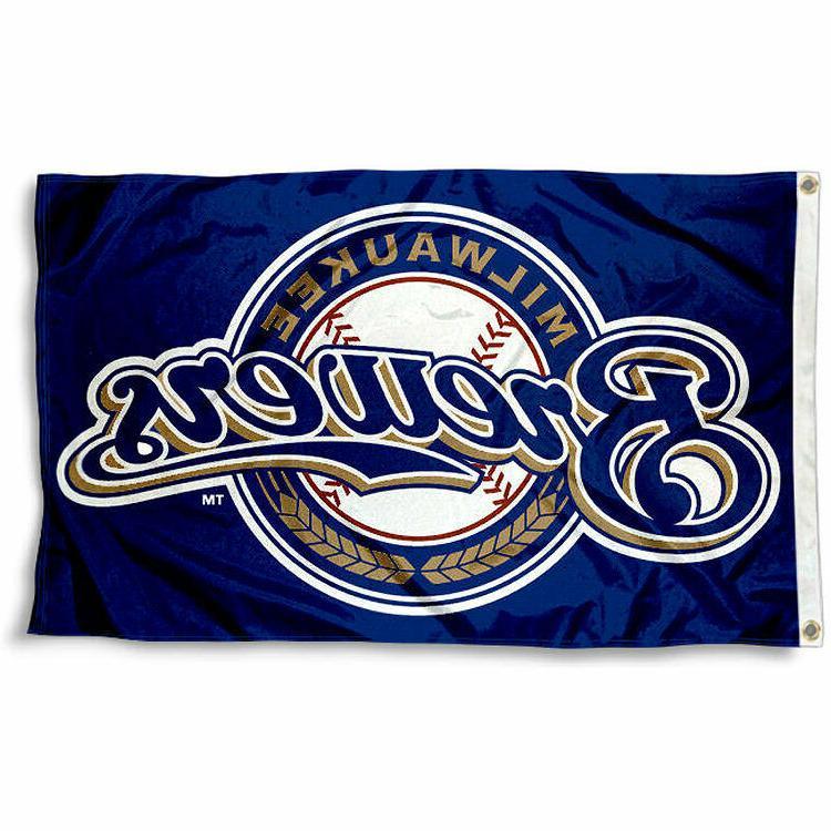 milwaukee brewers flag 3x5 banner