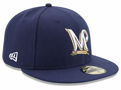 milwaukee brewers game 2019 59fifty fitted hat