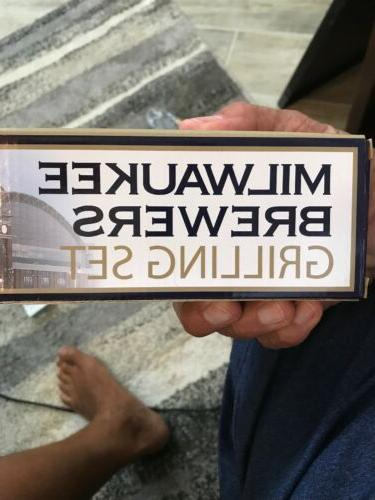 MILWAUKEE GRILLING 3 PCs new BOX sealed Park