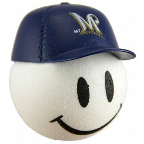 milwaukee brewers baseball cap head car antenna
