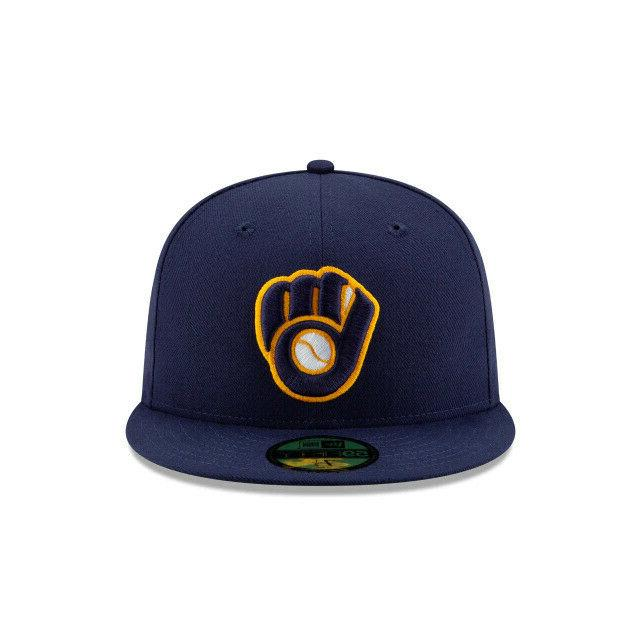 Milwaukee Brewers New Era 2 Hat-Blue