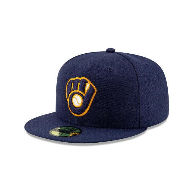 Milwaukee MLB Era Authentic Collection ALT 2 59FIFTY