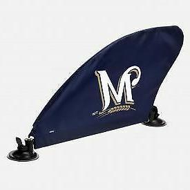 Milwaukee Brewers MLB Car Fin Team Logo Tailgate Auto Flag