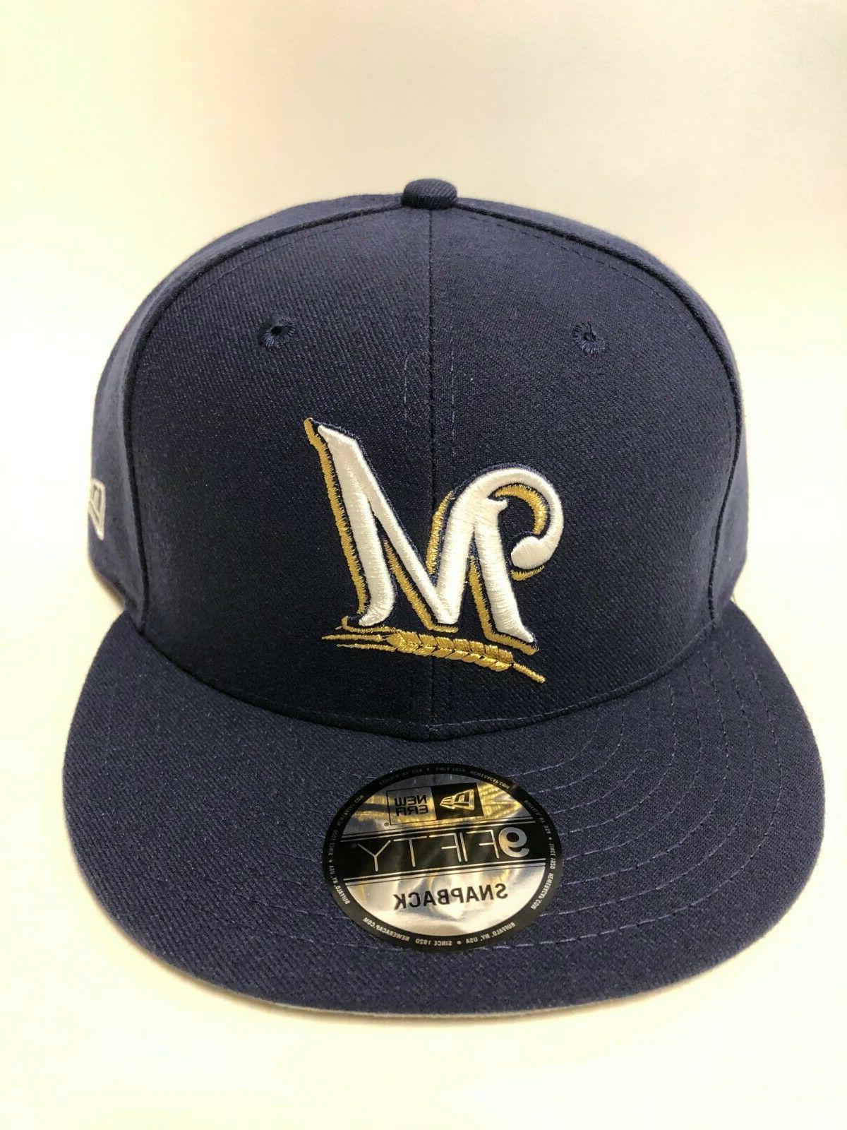 Milwaukee Brewers MLB New Basic Blue