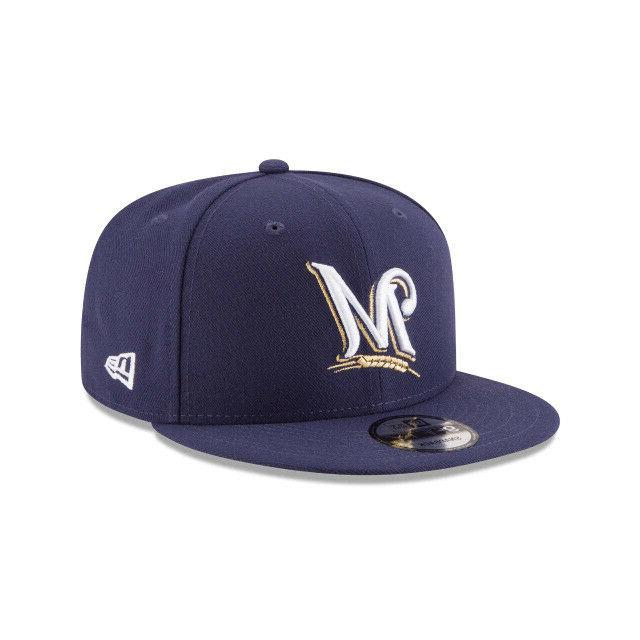 milwaukee brewers mlb team color 9fifty basic