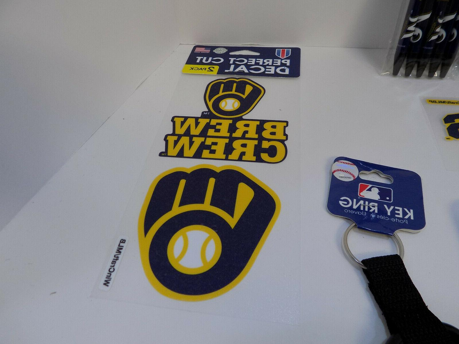 MILWAUKEE OPENING FAN BUNDLE DECALS RING PENS AUTO