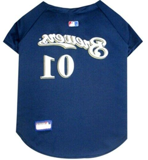 Milwaukee Brewers Blue; Fits Neck 10 In 1/2
