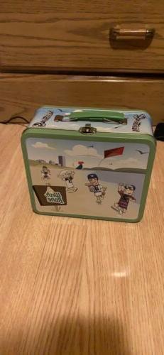 Milwaukee Brewers Wishbone Tin Lunchbox