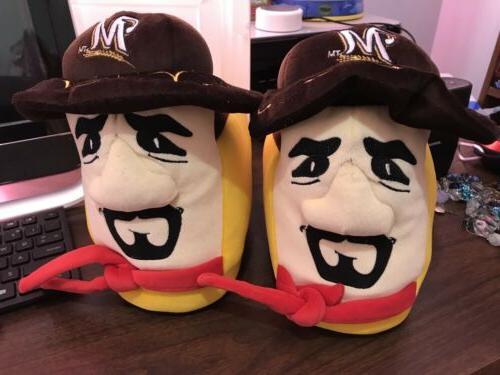 mlb baseball milwaukee brewers chorizo sausage slippers
