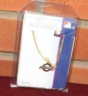 mlb milwaukee brewers 1 baseball charm necklace