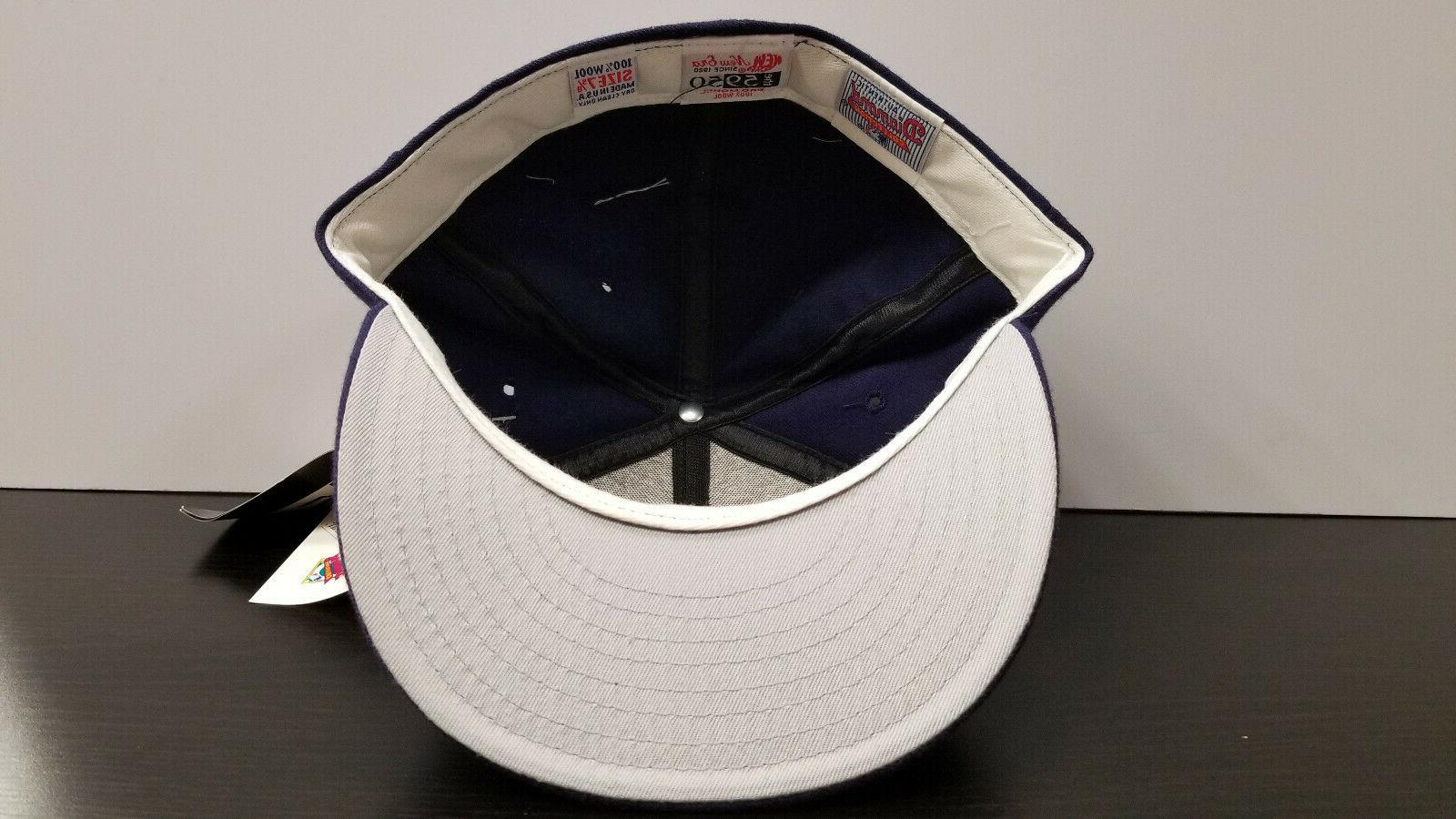 Vintage Solid Diamond Collection Hat NWT