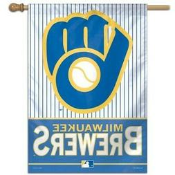 MILWAUKEE BREWERS ~  Official MLB 28x40 Outdoor House Flag B