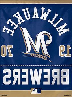 "Milwaukee Brewers ""1970"" Official MLB Baseball Premium Poste"
