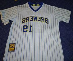 Milwaukee Brewers 1981 Robin Yount Cooperstown Collection Co