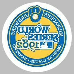 GOLF/ Milwaukee Brewers 1982 World Series Ball Marker/with M