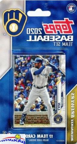 Milwaukee Brewers 2020 Topps Limited Edition 17 Card Team Se