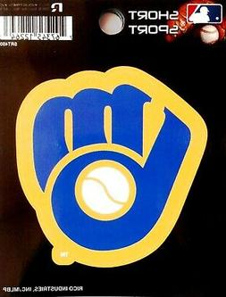 """Milwaukee Brewers 3"""" Vinyl Sport Die Cut Decal Bumper Sticke"""