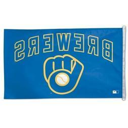 Milwaukee Brewers 3x5 Flag Banner MLB Baseball Single Sided