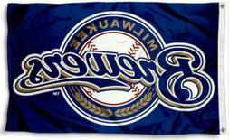 Milwaukee Brewers 3x5 Flag New 3 x 5 Baseball Banner Fast Fr