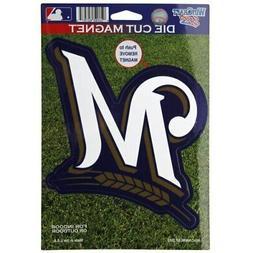 """Milwaukee Brewers WinCraft 6"""" x 9"""" Car Magnet"""
