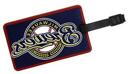 Milwaukee Brewers - MLB Soft Luggage Bag Tag