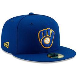 Milwaukee Brewers New Era Alternate Authentic On-Field 59FIF
